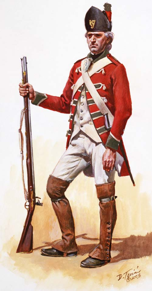 Volunteer of Ireland, 1779-1780