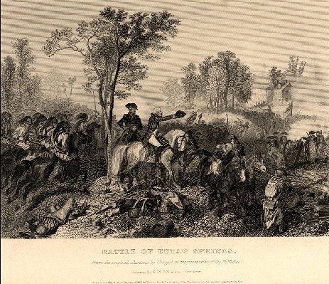 Battle of Eutaw Springs, South Carolina