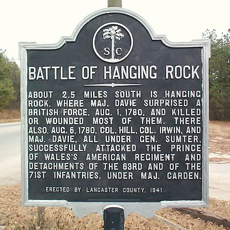 Heath Springs, SC Marker