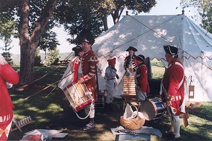 Mid-summer Encampment, King's Orange Rangers