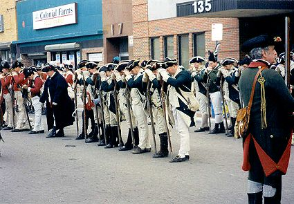 Mourn Arms, Hessian Ceremony at Trenton
