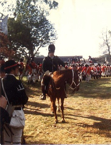 Queen's Rangers Light Dragoon, Yorktown, 1981